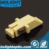 Amarillento del Sc milímetro del adaptador del obturador con el borde