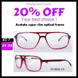 Het nieuwe Model Optische Frame van de Glazen van het Frame van de Glazen van de Acetaat Eyewear