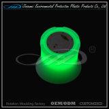 Dispositivo di raffreddamento di plastica di Champagne della benna di ghiaccio del LED