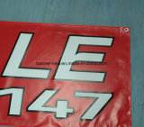 広告する屋外のカスタム印刷は妨げるビニールPVC旗(SS-VB90)を