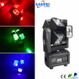 Volle Farben LED-RGBW 8 Köpfe, die Hauptbeleuchtung verschieben