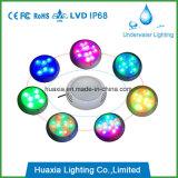 luz subacuática llenada resina de la piscina de 42W LED
