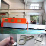 Máquina de estaca de alta velocidade do laser da fibra da estaca de folha 500W do metal