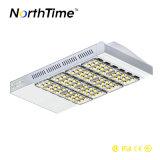 옥외 IP65는 알루미늄 LED 가로등 100W를 방수 처리한다
