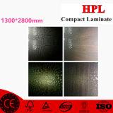 Laminado decorativo de alta presión; 2m m HPL