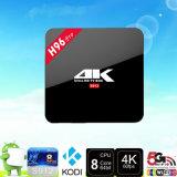 Contenitore sottile di vendita caldo TV Media Player astuto di Android 6.0 della ROM S912 Kodi 16.1 4k HD di RAM H96 PRO 2GB 16GB di Wechip