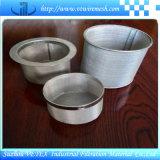 Cilindro Heat-Resisting & Desgastar-Resistindo do filtro do aço inoxidável
