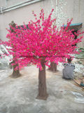 2 Meter Kunstseide-Blumen-Baum-