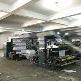 기계를 인쇄하는 4개의 색깔 비 길쌈된 직물 Flexo