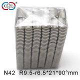 Nickel-Beschichtung-Viereck Dauermagnet mit Größen