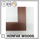 Kleiner quadratischer Brown-hölzerner Foto-Rahmen für Dekor