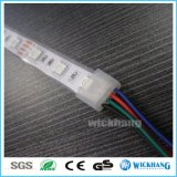Coperchio della protezione di estremità del silicone per l'indicatore luminoso impermeabile della banda a tubo di 5050 LED