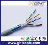 cabo interno do ftp Cat5 do Cu 24AWG