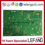 1.6mm 2 Schichten OSP Fr4 Sicherheits-Bildschirmanzeige-Leiterplatte Schaltkarte-