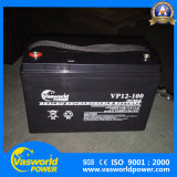 Bateria acidificada ao chumbo da bateria 100ah VRLA do AGM do preço 12V