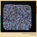 Кожа мешка ткани PU яркия блеска