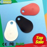 HF MIFARE 고전적인 EV1 1K 유리 섬유 RFID keyfob keychain