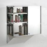 Шкаф зеркала ванной комнаты мебели Staniless стальной (7007)