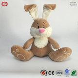 Giocattolo di seduta del regalo di qualità del coniglio farcito peluche molle blu