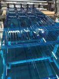 duidelijk Polycarbonaat 100% van 840mm Maagdelijk Materialen GolfBlad Gekleurd van de Bescherming van het Dak van de Bouw Bayer Materieel UV PC- Blad