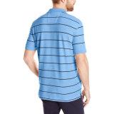 2017 рубашек пола рубашек пола CVC нашивки способа покрашенных пряжей