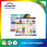 Catalogue de la carte couleur pour l'architecture professionnelle Peinture murale