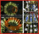 Hete Opblaasbare Glanzende het Lopen van de Verkoop Bal Zorb met Verlichting