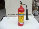 Cilindro de gás de alta pressão de 2 quilogramas do extintor de incêndio