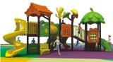 Cour de jeu extérieure d'enfants de plastique neufs en vente d'usine avec l'escompte