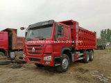 低価格は販売のために10車輪HOWOのダンプトラックを使用した