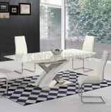 Tabella pranzante della sala da pranzo modo moderno popolare della mobilia di nuovo (NK-DT222-2)