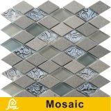 壁の装飾の陶磁器の芸術シリーズ(陶磁器の芸術D01/D02)のための熱い販売のダイヤモンドの形の芸術の陶磁器のモザイク