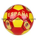 Balón de fútbol respetuoso del medio ambiente de TPU para las personas