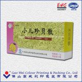 Kundenspezifisches Großhandelsfirmenzeichen gedruckter aufbereiteter Papierverpackungs-Wegwerfkasten