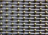 Сетка гофрированная нержавеющей сталью архитектурноакустическая