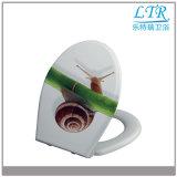 Weicher naher Harnstoff-schöner dekorativer Toiletten-Kappen-Deckel
