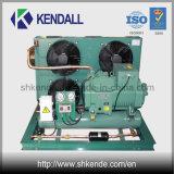 Unidade de compressor de pistão Bitzer refrigerada a ar para sala fria