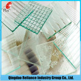figura matizada 3-6mm vidro de teste padrão de vidro da figura vidro de teste padrão de vidro de /Blue/de bronze do vidro de teste padrão/cor de /Grey do vidro de teste padrão de /Green