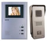 Die 4 Inch-Hände geben Farben-Video-Tür-Telefon frei