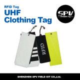 Tag da roupa da freqüência ultraelevada RFID para o controle de inventário do vestuário