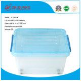 La casella di memoria di plastica variopinta dei prodotti di plastica caldi di vendita calza il contenitore di imballaggio del contenitore di regalo del contenitore di alimento dei vestiti