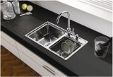 Stilvoller One Piece Edelstahl Kitchen Sink von Double Bowl (YX8143)