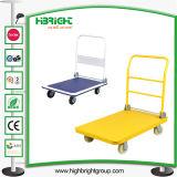 Metallische Lager-Plattform-Laufkatze-Hochleistungskarre