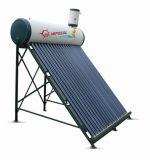 Presurizado pipa de calor del calentador de agua solar caliente