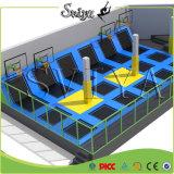 Trampolines ginásticos magníficos Updated internos da zona do salto para o equipamento