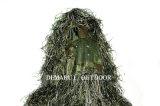 Juego de Ghillie del camuflaje de la selva para que francotirador vaya a buscar