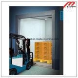 Elevador de carga de Roomless de la máquina para el almacén