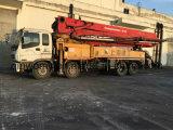 42m Occasion Bulk-Shipping 8 * 4-LHD-Drive 26ton Isuzu-Chassis Putzmeister Pump Truck