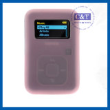 Sandisk Sansa Clip+를 위한 MP3 Player Silicone Case