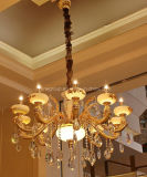 Iluminación europea del hogar de la decoración de Phine con la lámpara pendiente del dispositivo de la aleación del cinc